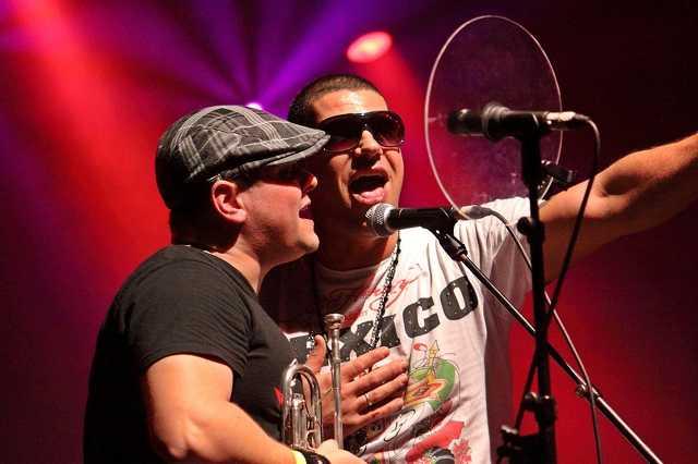 Ocho Macho koncert az Illegal Fesztiválon 2010.12.29.