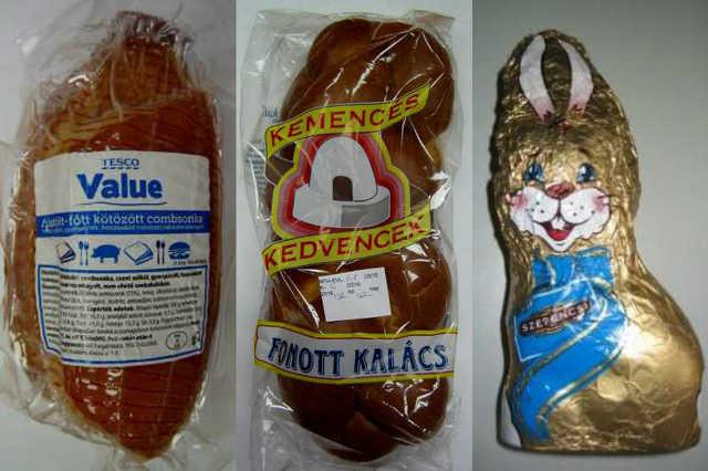Fogyasztóvédelem által bevizsgált húsvéti élelmiszerek