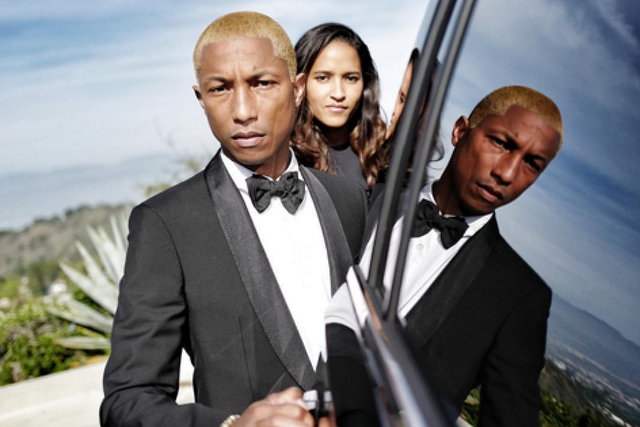 Pharrel Williams és Helen Lasichanh↑