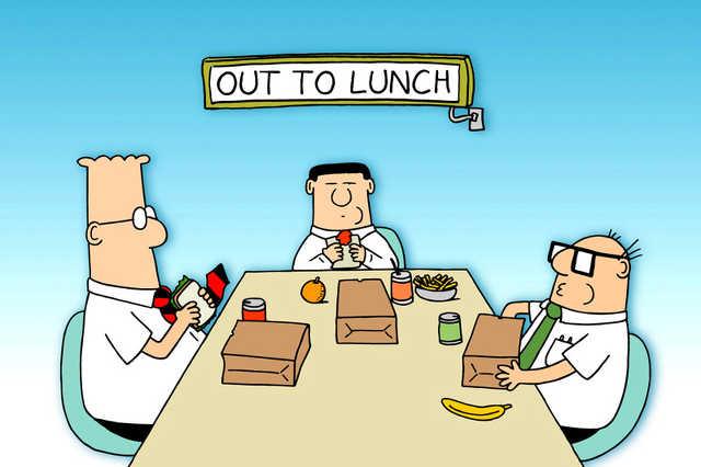 munkahelyi ebéd