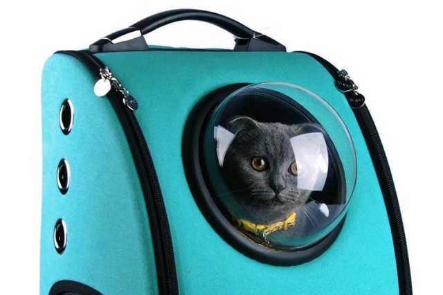 Űrhajós macskatáska
