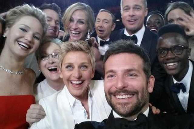 Oscar-selfie címlapi
