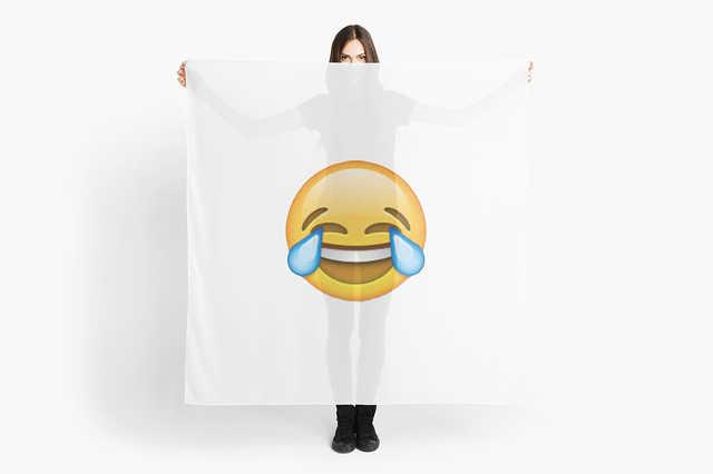 sírva nevetős emoji lett az év szava