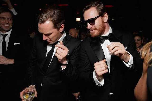 Benedict Cumberbatch és Michael Fassbender