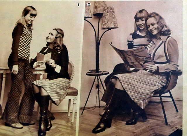 Anya és lánya Komlós Lili felvételein