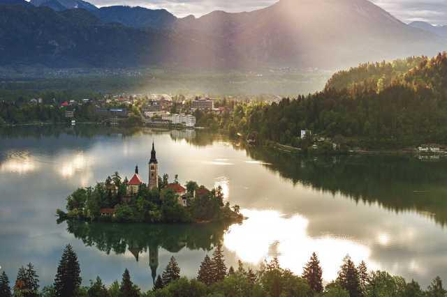 Szlovénia - Bled tó
