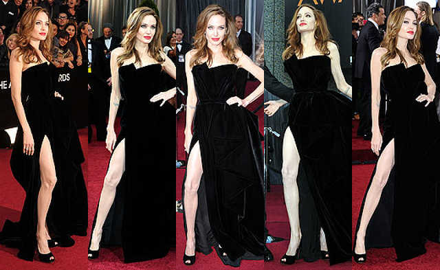 Angelina Jolie jobb lába