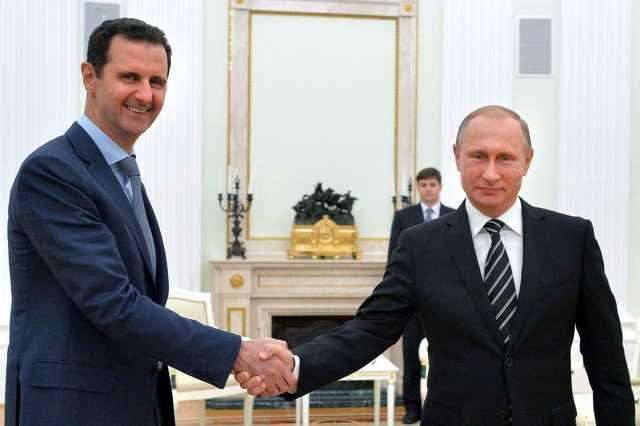 Bassár el-Aszad Vlagyimir Putyinnál Moszkvában
