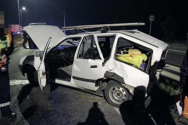 Két sérült az Ipari út és a körgyűrű kereszteződésénél
