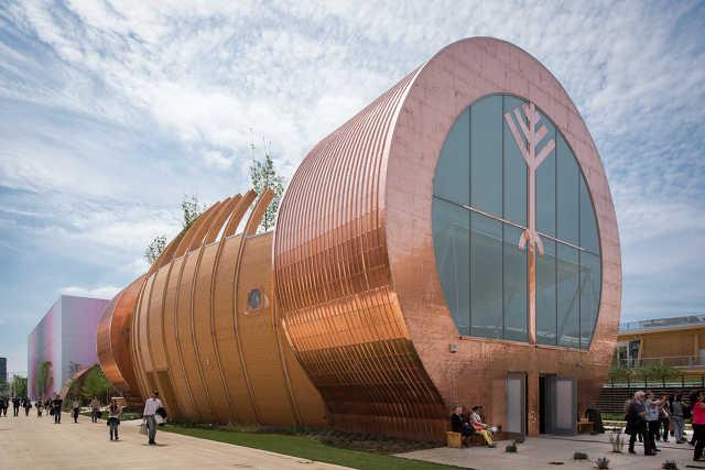 A magyar pavilon a 2015-ös milánói világkiállításon