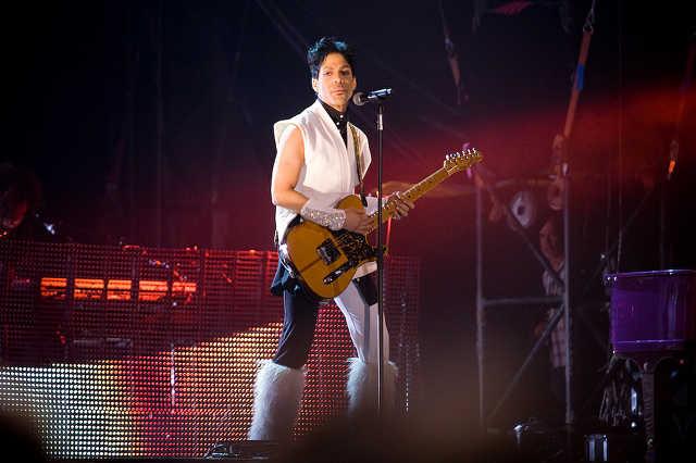 Prince koncert a Sziget nulladik napján