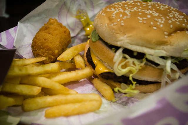 Gusto Burger a budapesti Váci utcában
