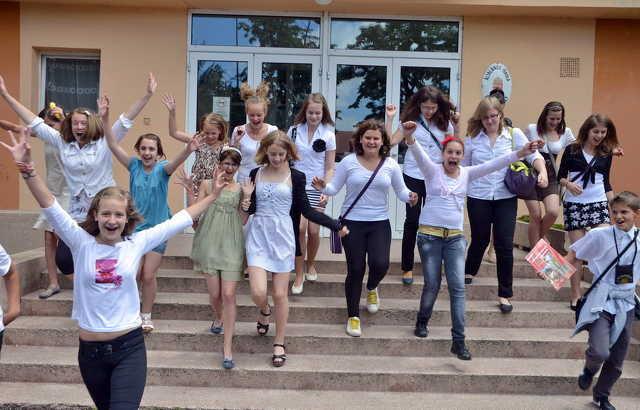 Elkezdődött a nyári szünet - Neumann János Általános Iskola, Szombathely
