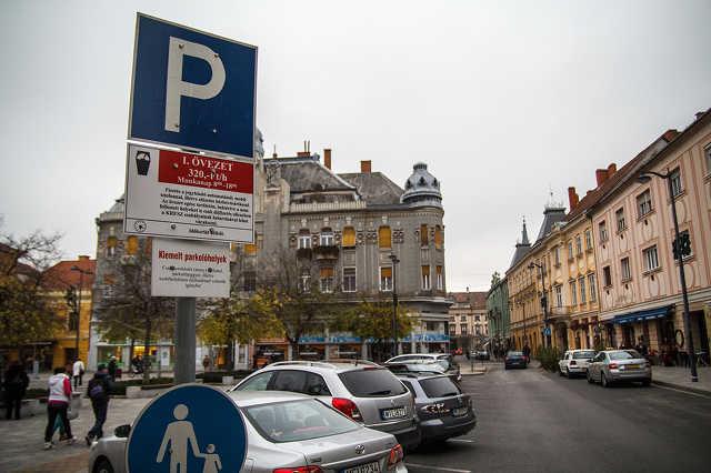 Kiemelt parkolóhelyek