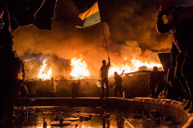 Kijevi tüntetők