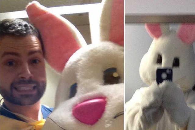 húsvét selfie