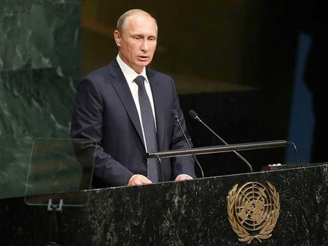 Putyin az orosz felsőházban