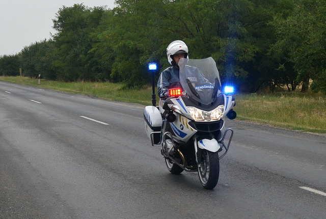 Megérkeztek az új BMW rendőrmotorok Szombathelyre