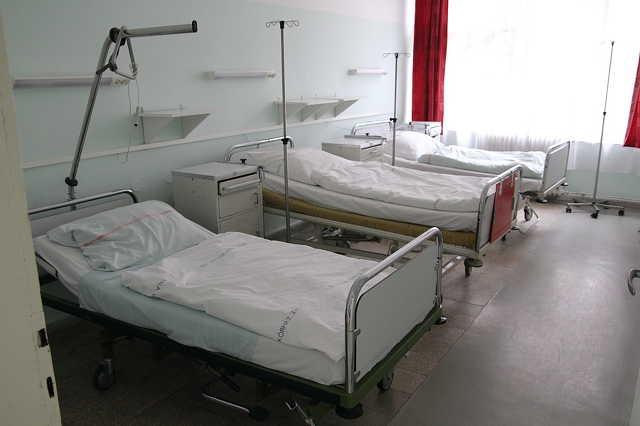 Üres kórterem a gyógyszerhiány miatt