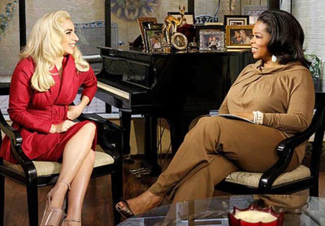 Lady Gaga és Oprah Winfrey