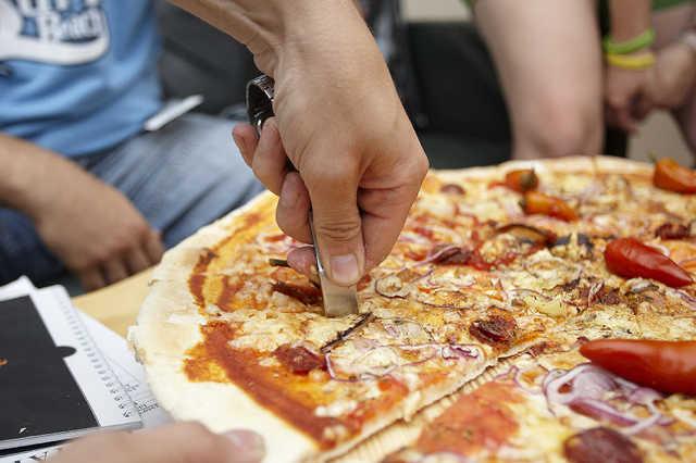Klub pizza - megéheztünk