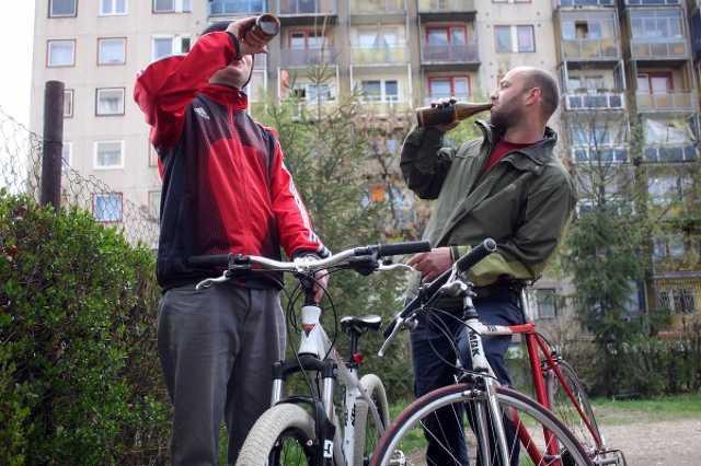 Biciklis sörözés