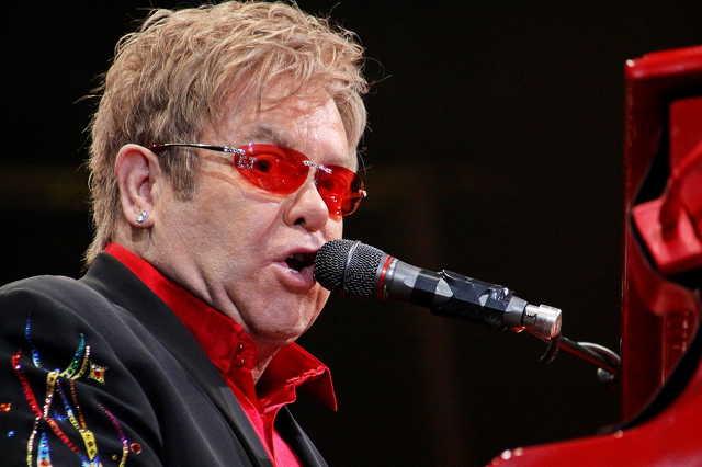 Elton John koncert Helsinkiben