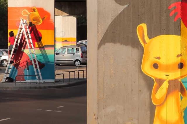 Színes Város Budapest Fesztivál (2015): BAH csomópont
