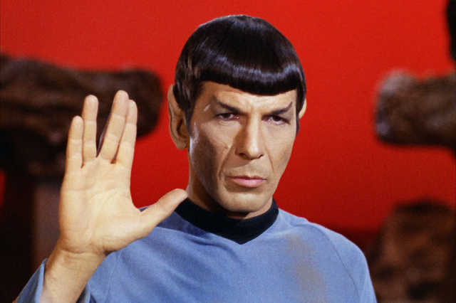 Leonard Nimoy, mint Spock