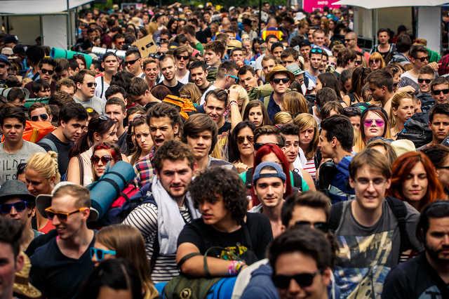 A legelső fesztiválozók a 2014-es VOLT-on