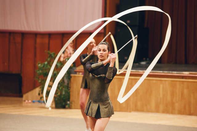 Ritmikus gimnasztika gála az AGORA MSH-ban