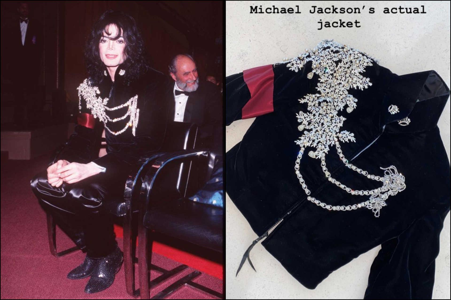 Michael Jackson egyik dzsekijét kapta karácsonyra Kim Kardashian lánya