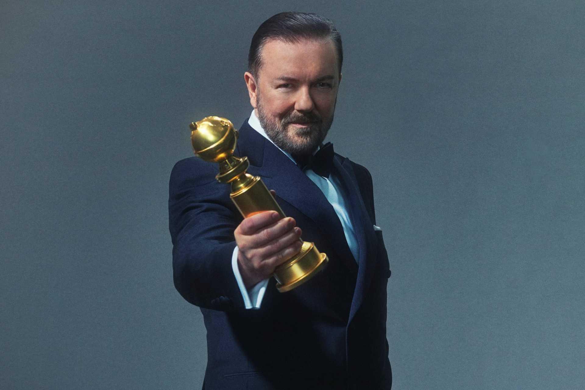 Az est házigazdája, Ricky Gervais