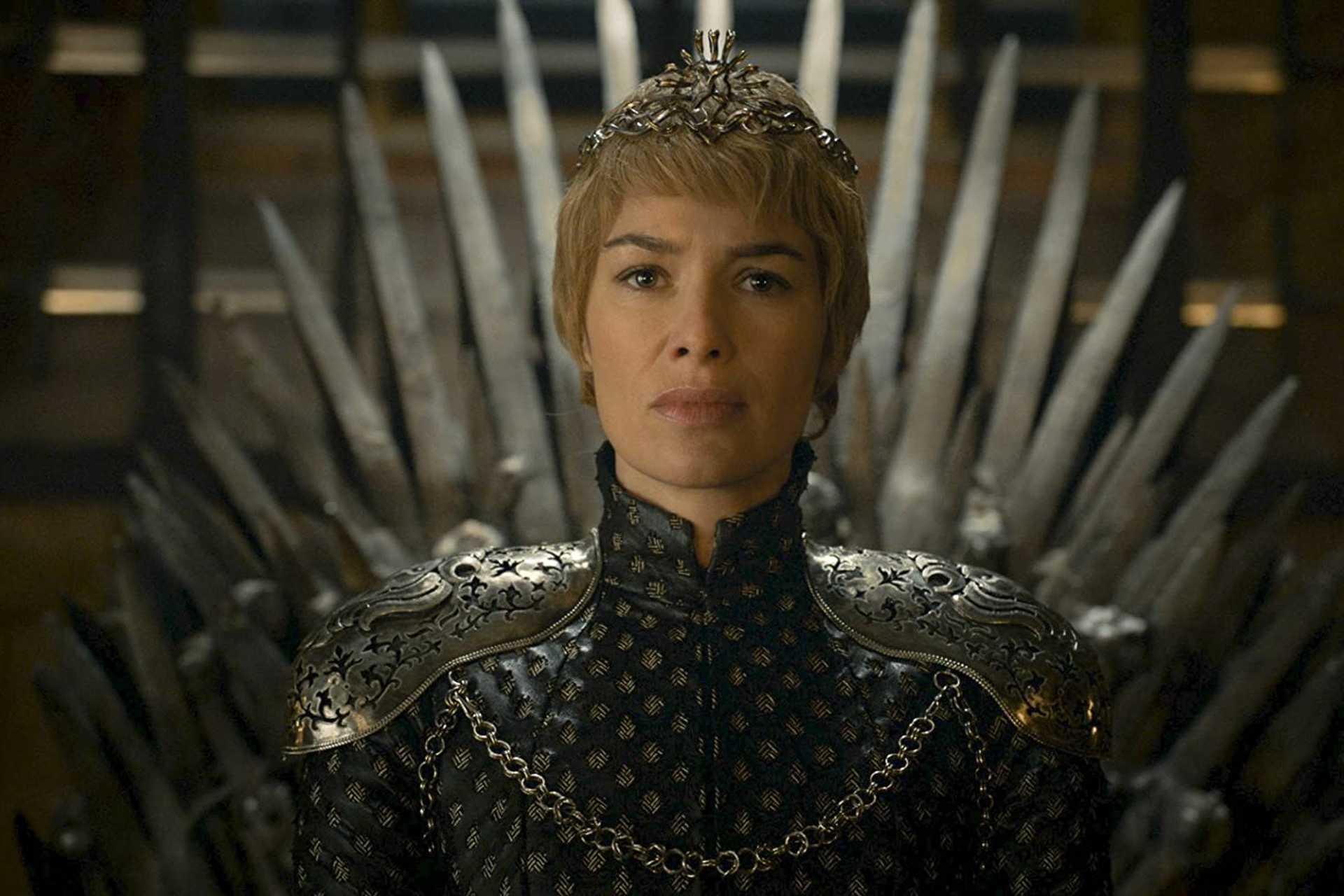 Lena Heady, mint Cersei a 2016-ban megjelent, Tél szelei című epizódban.