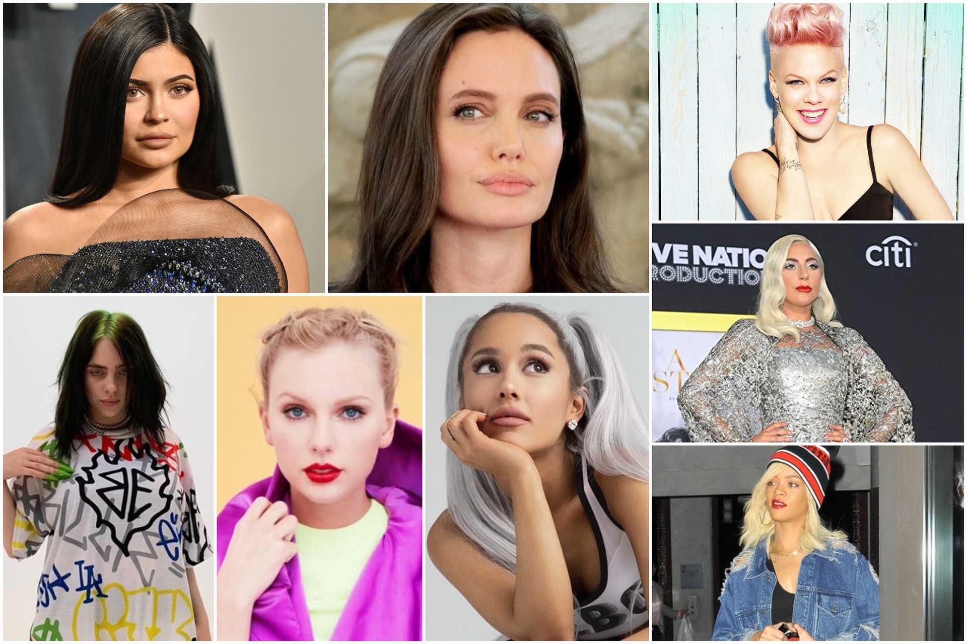 Legjobban kereső híres nők 2020