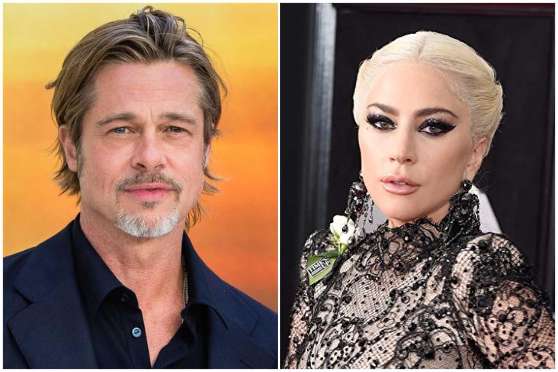 Brad Pitt & Lady Gaga