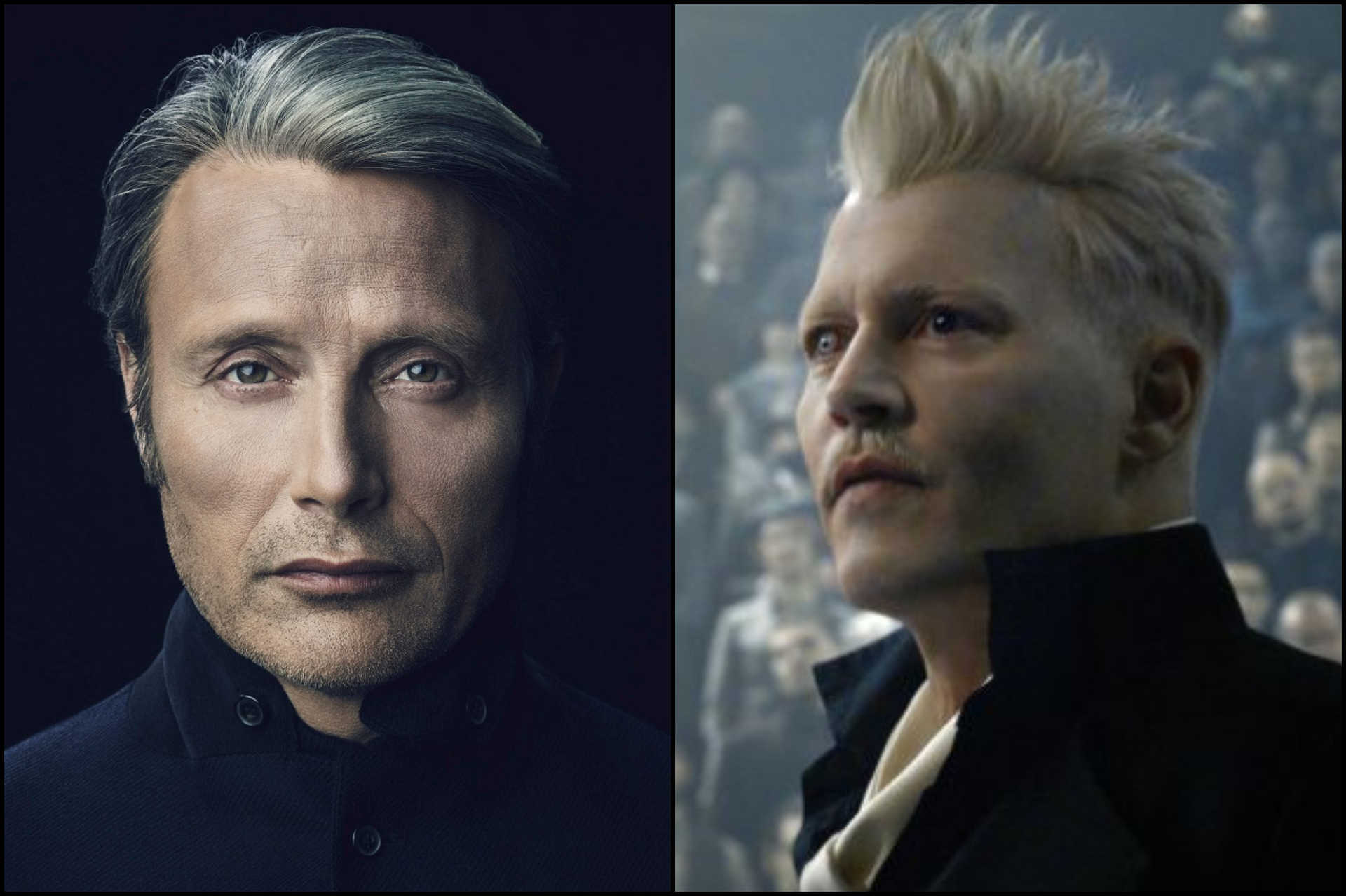 Mads Mikkelsen és Johnny Depp