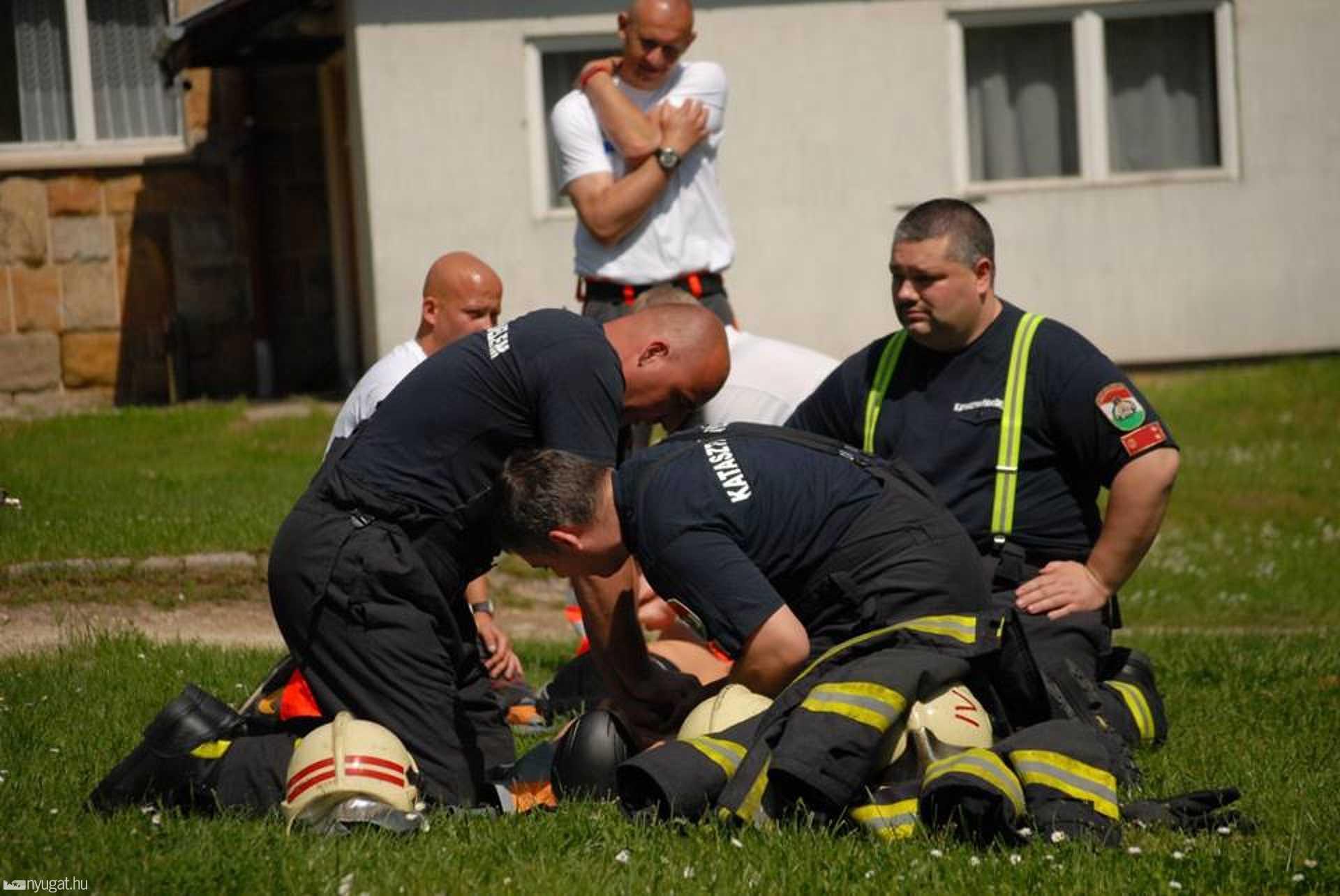 A katasztrófavédők is versenyeznek