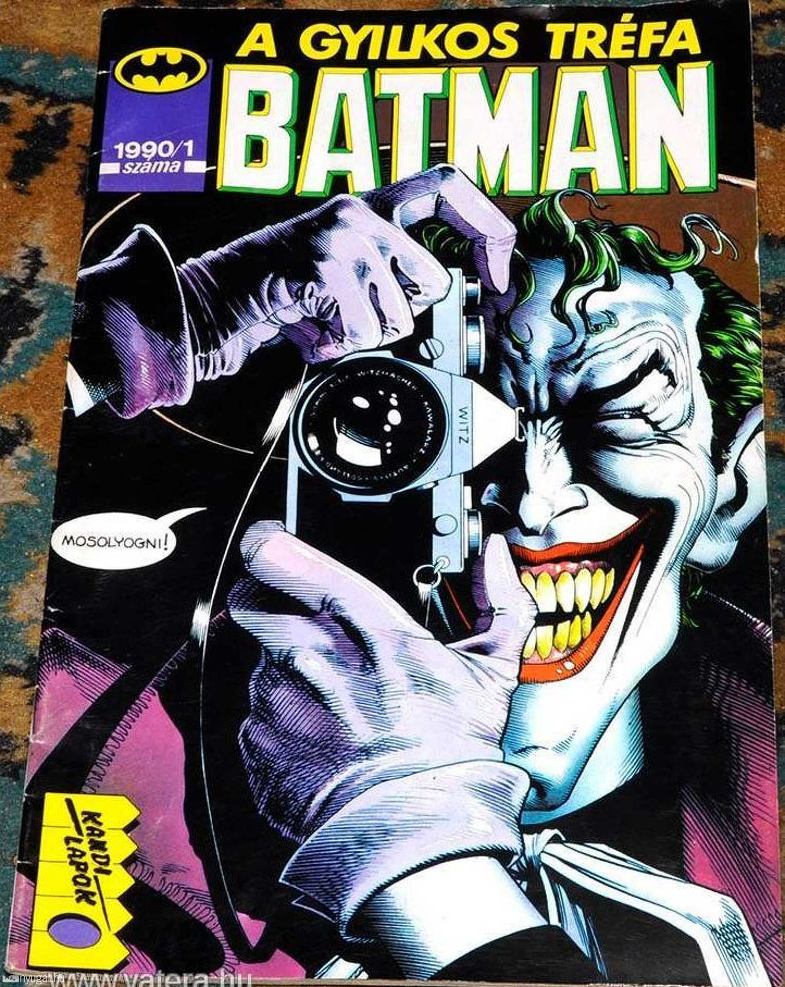 Batman - Gyilkos Tréfa
