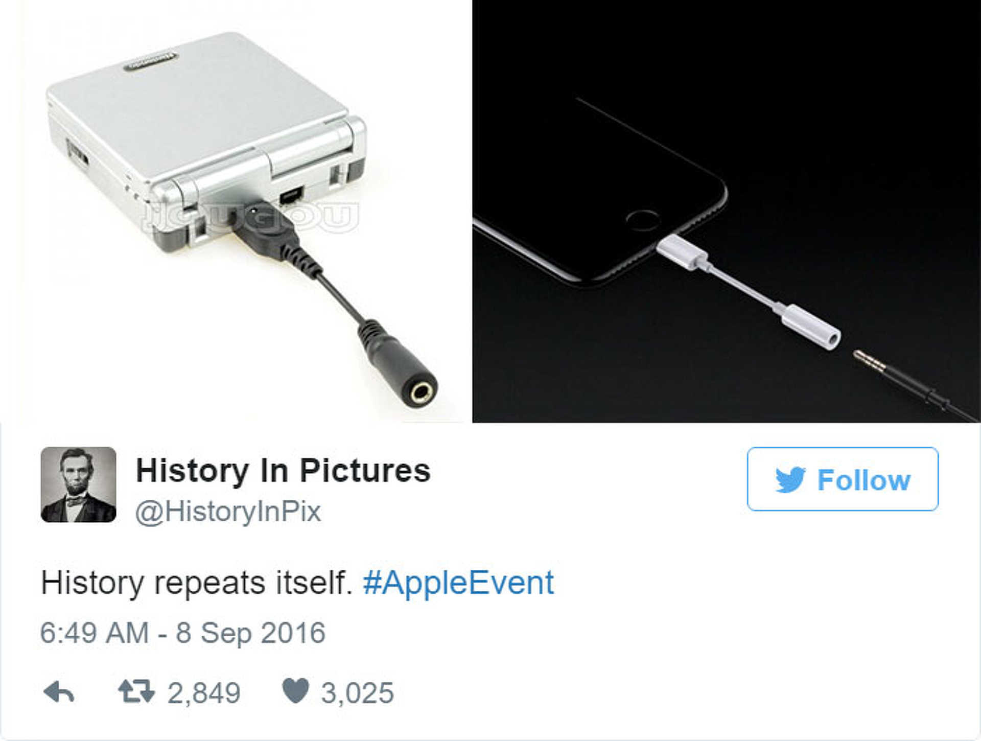 iPhone 7 mém