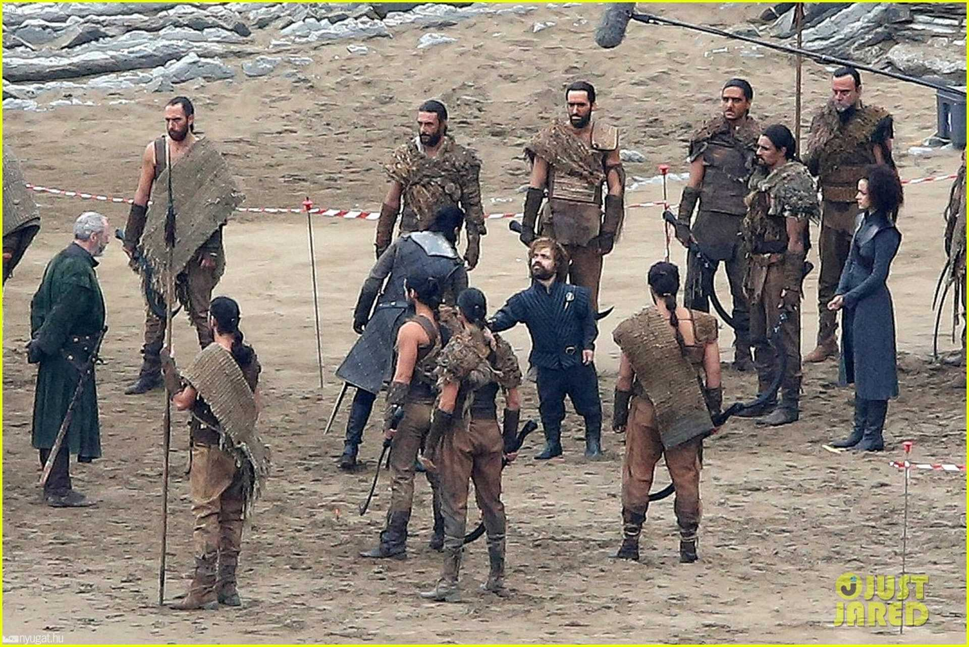 Havas Jon, Tyrion Lannister és dothraki harcosok