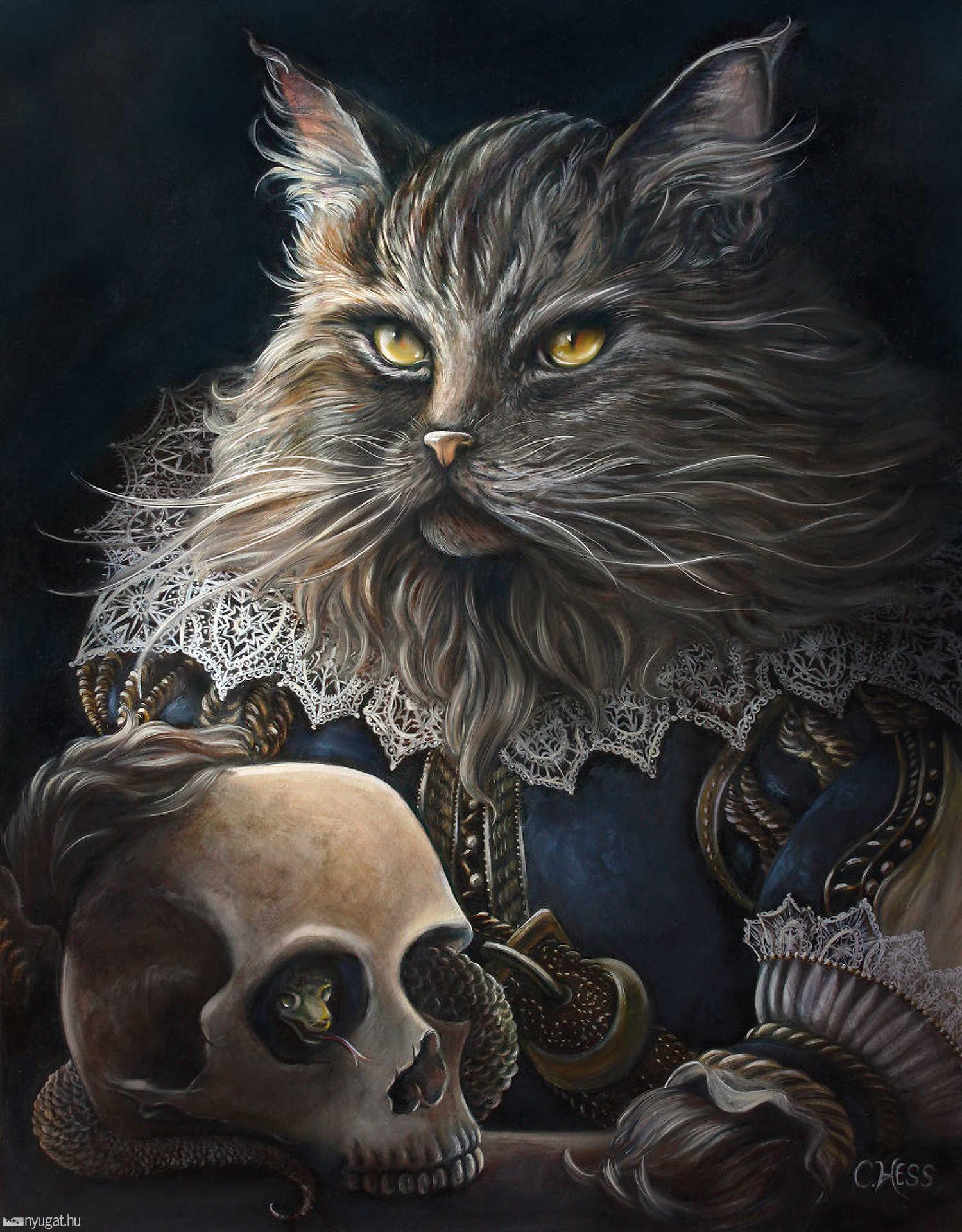 Macskák történelmi köntösben