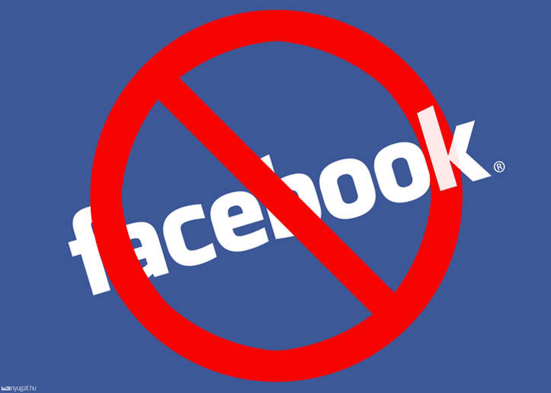 Hibernáld a Facebook fiókodat.