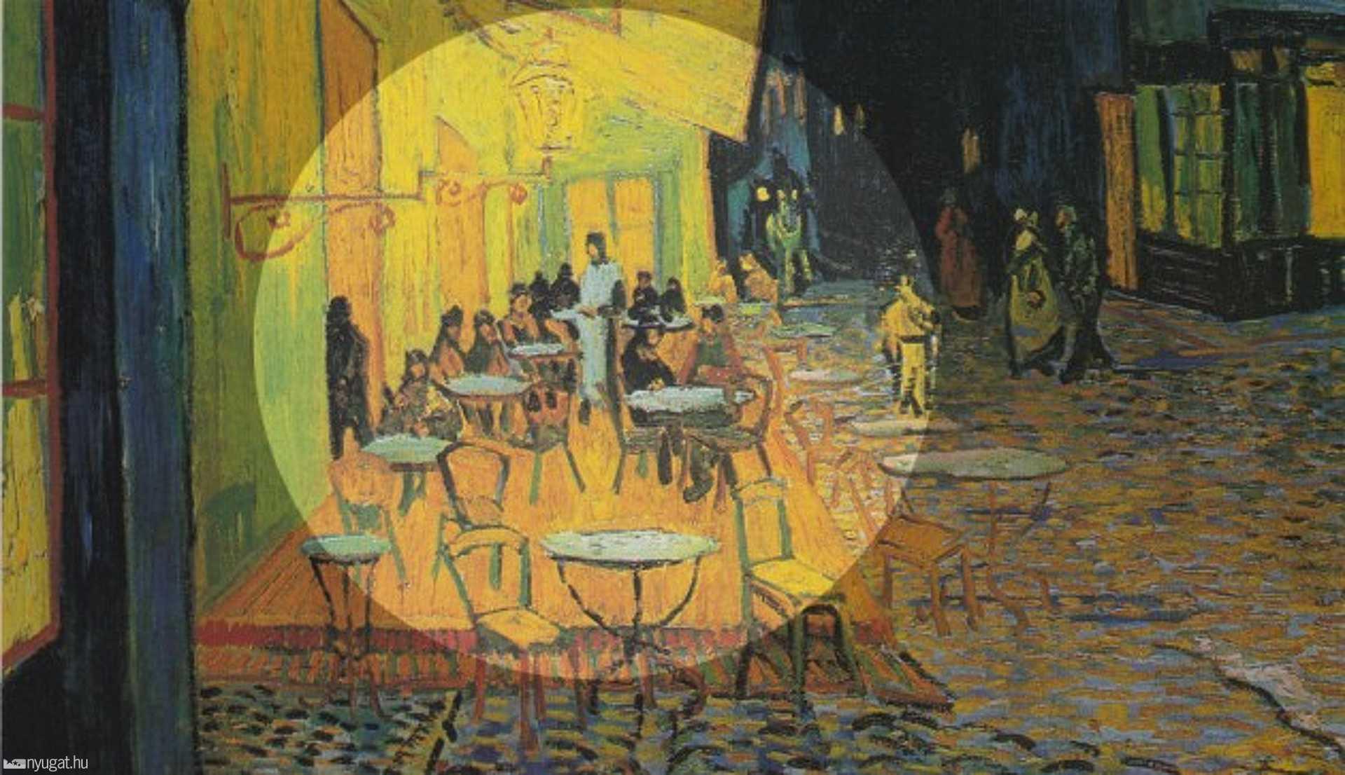 Vincent Van Gogh: Éjjeli kávézó (1888.)