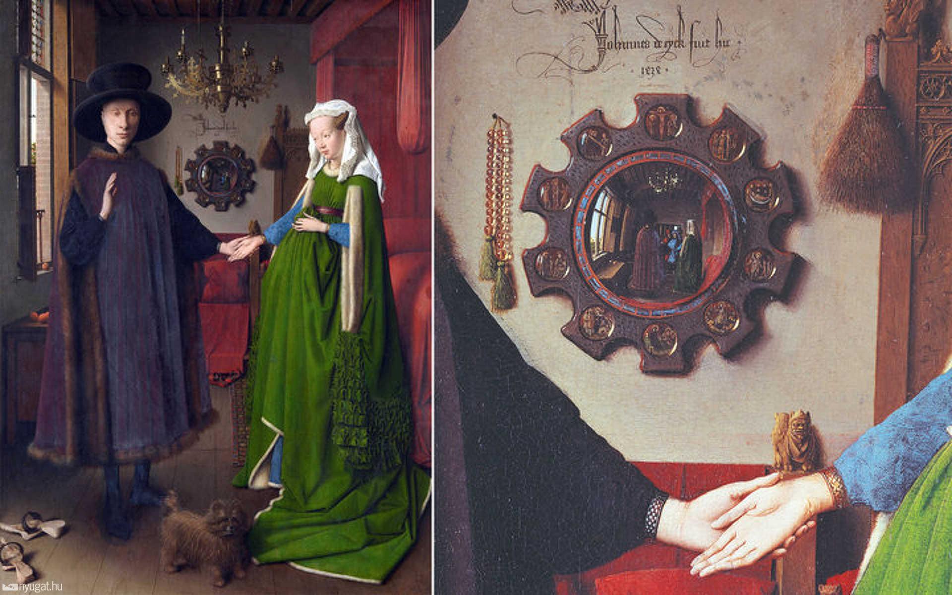 Jan van Eyck: Arnolfini házaspár (1434.)