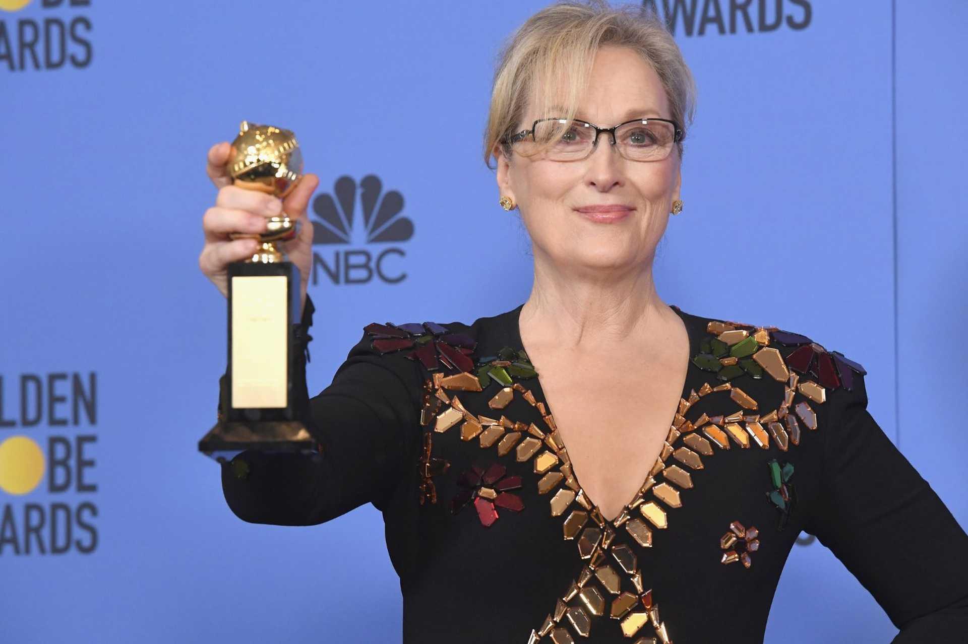 Meryl Streep is díjat vehetett át