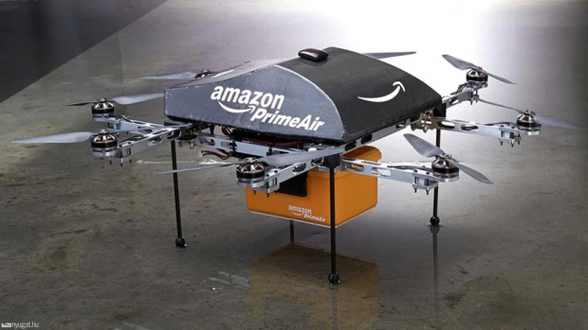 Amazon drón szállítás