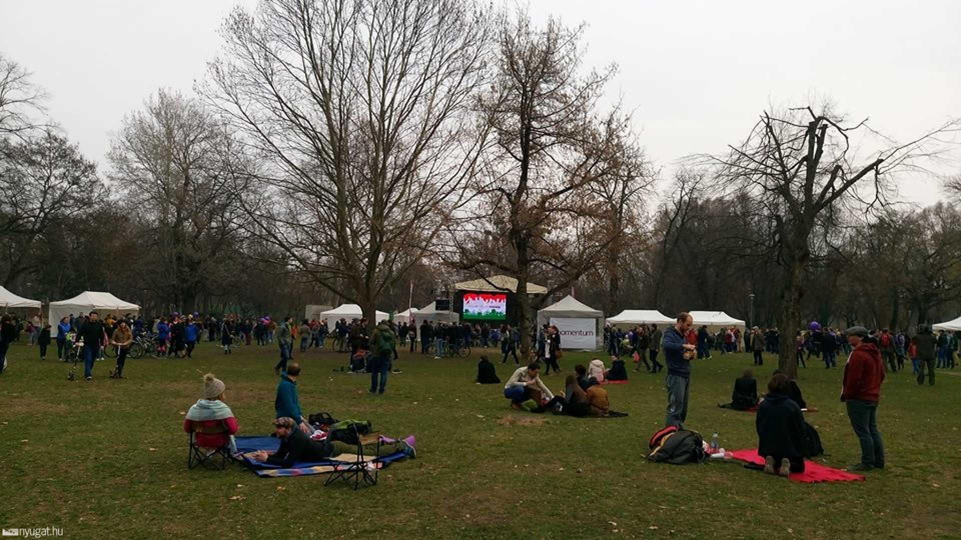 momentum piknik piknikezők
