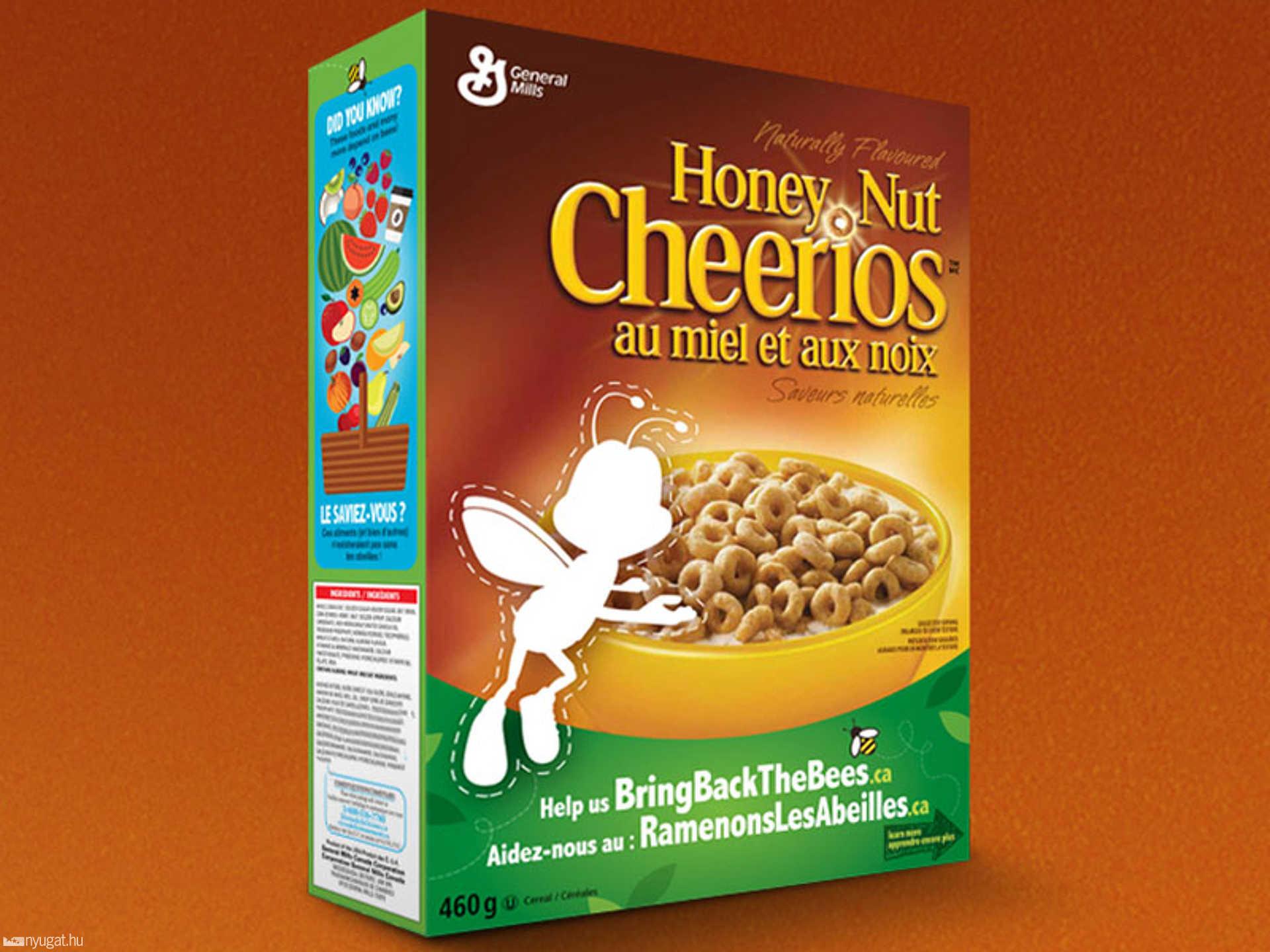 Cheerios méhecske kampány