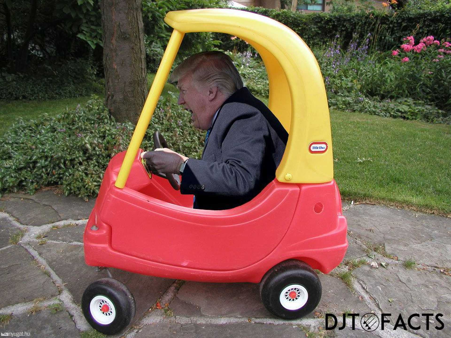 Donald Trump kamiont vezet